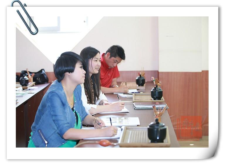 新境26期茶艺师培训课堂实拍1