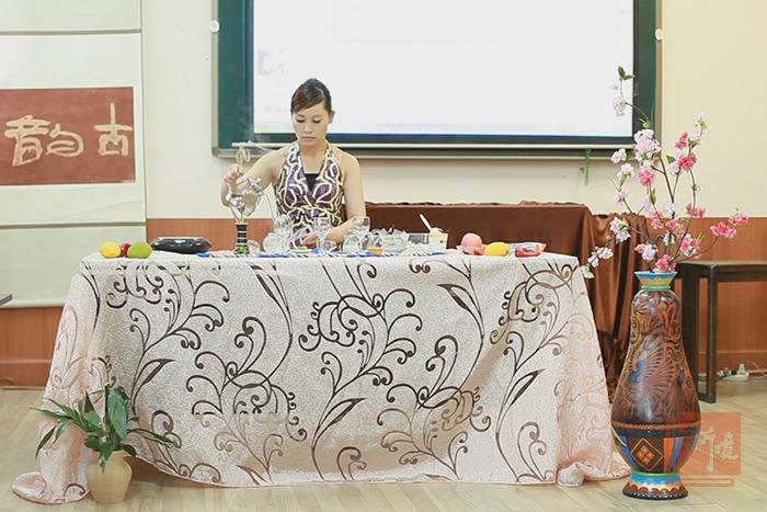 新境第26期茶文化茶艺师培训班结业考试现场实拍