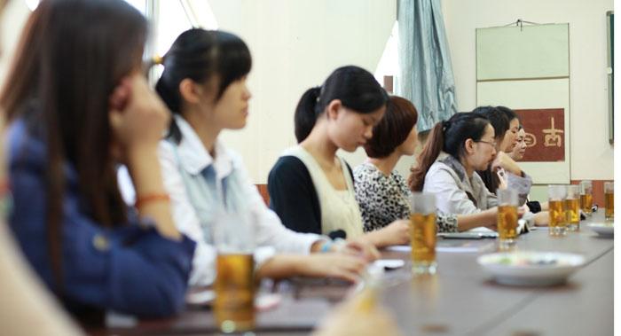 新境第28期茶艺培训班开班典礼今日举行
